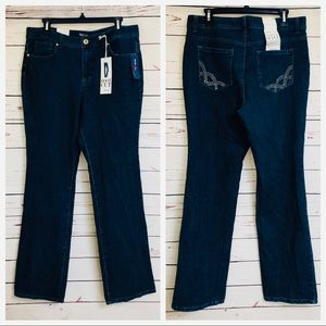 Style & Co Boot Cut Jeans Contoured Waist